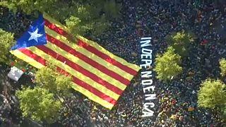 Καταλονία: Οι αποσχιστές στους δρόμους