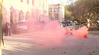 Final tenso de la Diada de Cataluña