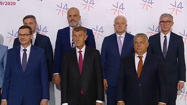 A visegrádi négyek támogatják a nyugat-balkáni országok uniós csatlakozását