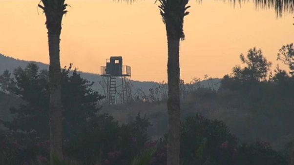 شاهد: سلسلة انفجارات في مستودع للجيش التركي شمال قبرص