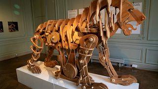 Leonardo Da Vinci'nin aslan maketi