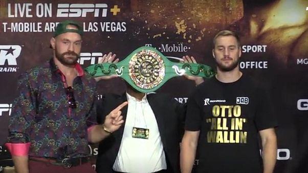 Fury vs Wallinn, match di pesi massimi aspettando Wilder