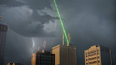 The scientists who are 'struck' by lightning