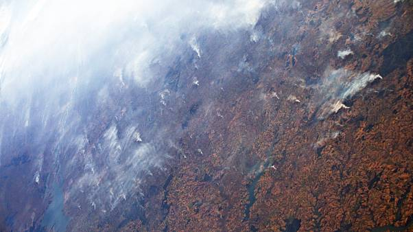 مشاهده آتش سوزی در آمازون و طوفان دورین از فضا