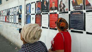 """2ème présidentielle """"libre"""" en Tunisie, mais l'un des favoris est en prison"""