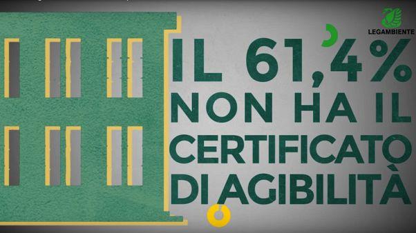Legambiente, SOS sicurezza scuole: oltre 60% senza certificato agibilità
