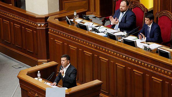 Ukrayna Devlet Başkanı Zelenskiy: Barış anlaşması için yol haritası hazır