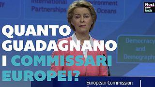 VIDEO: Quanto guadagnano i commissari europei?