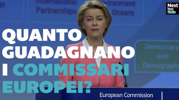 VIDEO: Quanto guadagnano i commissari europei?