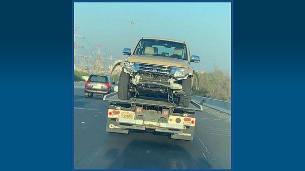 شاهد: مطاردة هوليودية للص سرق سيارة تابعة للجيش في الكويت