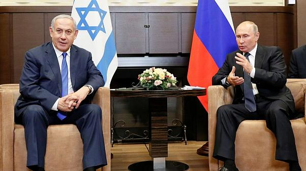 Image result for نتانیاهو در دیدار با پوتین: اسرائیل باید علیه ایران آزادی عمل داشته باشد
