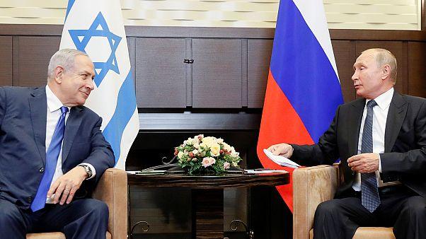 Netanyu'dan Putin'e: İran'ın Suriye topraklarından bizi tehdit etmesi kabul edilemez