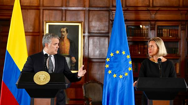 Az EU milliárdos támogatást nyújt Kolumbiának a menekültválság kezeléséhez
