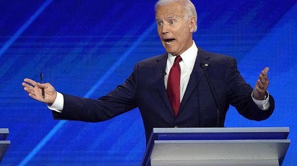 El despiste de Joe Biden en el debate de aspirantes a la candidatura demócrata a la Casa Blanca