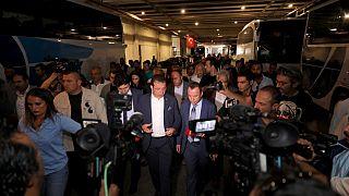 İstanbul Büyükşehir Belediye Başkanı Ekrem İmamoğlu İBB'ye devredilen 15 Temmuz Demokrasi Otogarında incelemelerde bulundu.