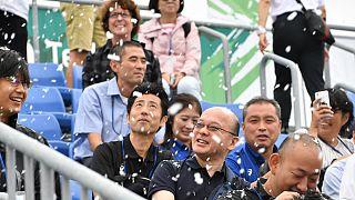 تولید برف مصنوعی برای خنک کردن تماشاگران در بازیهای المپیک توکیو