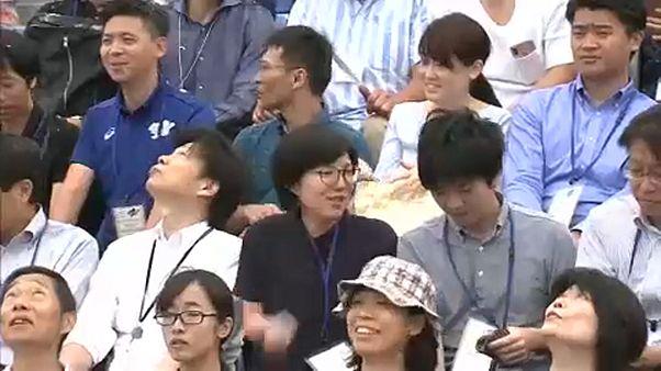 Műhó-teszt a jövő évi tokiói olimpia helyszínén