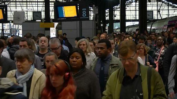 Felfordulás a sztrájk miatt Párizsban
