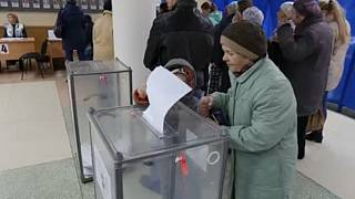Voting in disputed elections underway for new local leaders in Donetsk and Luhansk