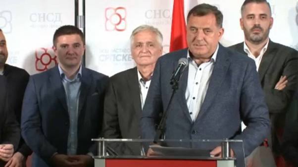 Bosnian Serb nationalist elected to tripartite Presidency of Bosnia and Herzegovina