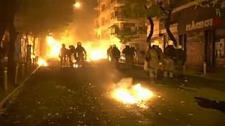 Greek riot police clash with protesters on 10th anniversary of unarmed teen's killing