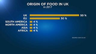 Warning that no-deal Brexit will lead to food shortages and price hikes