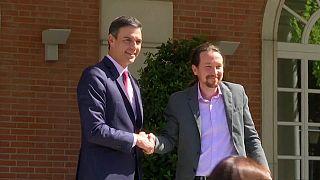 """Sánchez también rechaza la """"coalición temporal"""" de Pablo Iglesias"""
