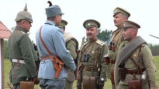Nachgespielt - die erste russisch-deutsche Schlacht des 1. Weltkriegs