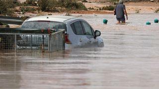 Chuvas torrenciais em Espanha fazem cinco mortos