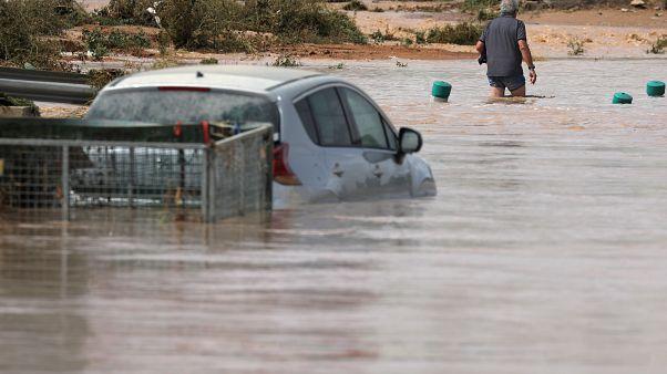 Ισπανία: Πλημμύρες σε Ανδαλουσία και Βαλένθια