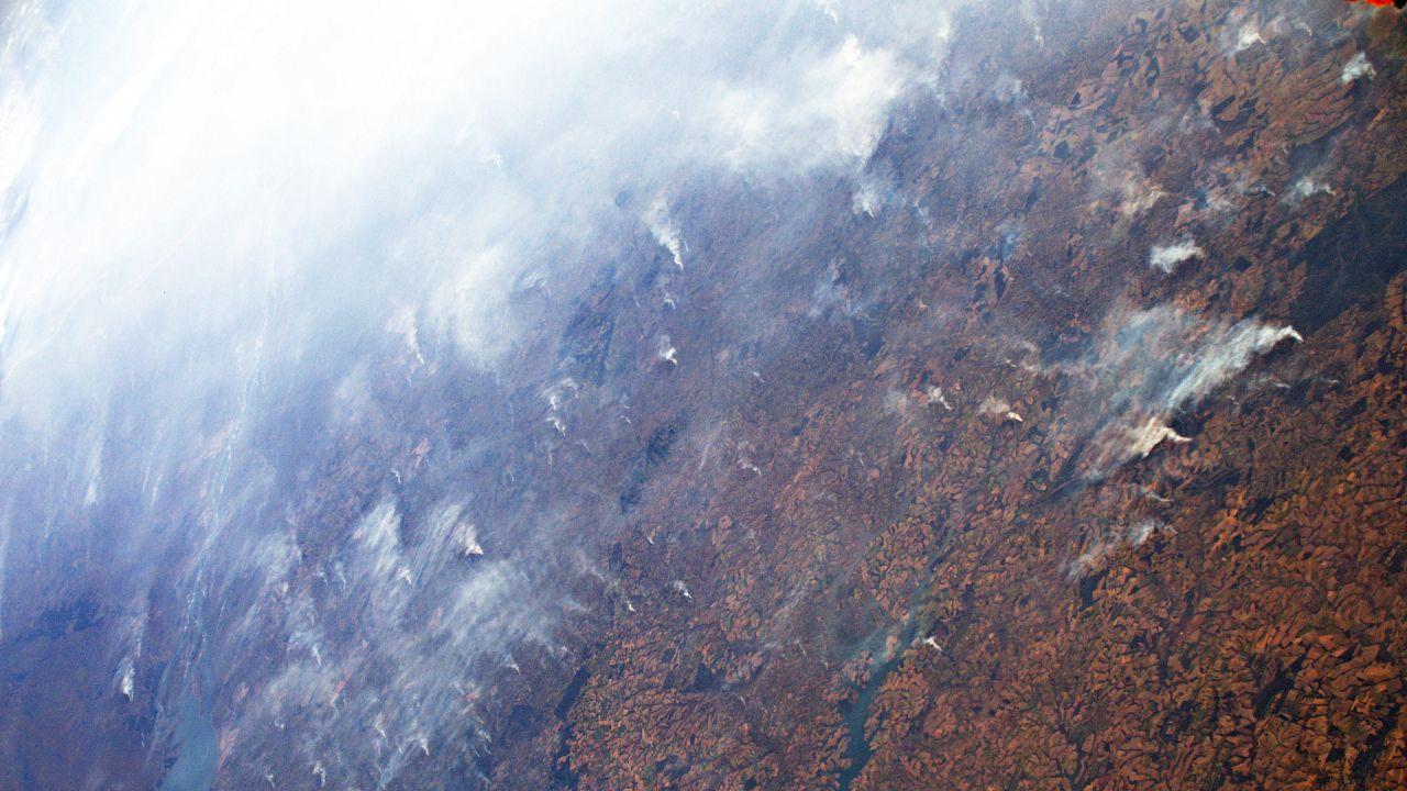 Uzay günlükleri: Amazon ormanlarında çıkan dev yangınların uzaydan görüntüleri
