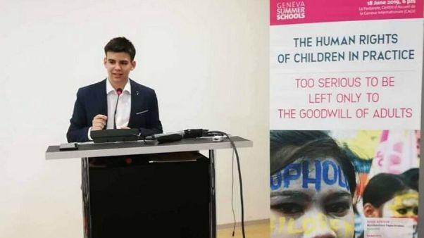 Έλληνας στους υποψήφιους για το «Νόμπελ Ειρήνης» για Παιδιά