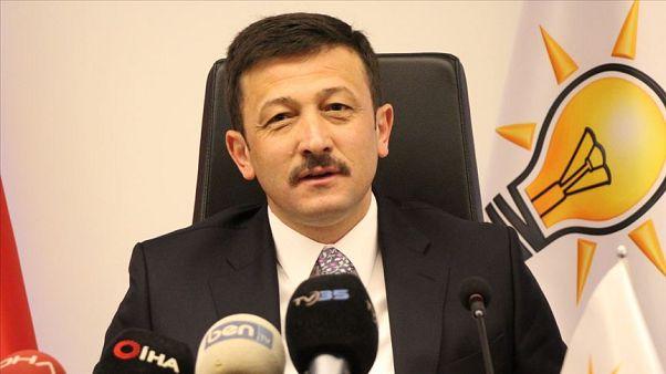 AK Parti Genel Başkan Yardımcısı Dağ'dan Davutoğlu'na: Biz bunları dikkate almadan önümüze bakıyoruz