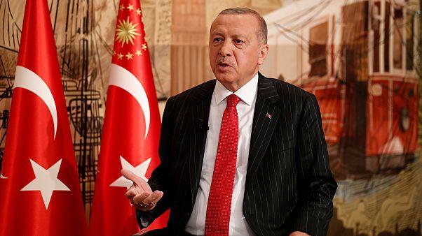 Erdoğan: Patriot alımı için Trump ile görüşeceğim; Halkbank konusunda ABD'ye güveniyorum
