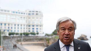 الامين العام للامم المتحدة انطونيو غوتيريش