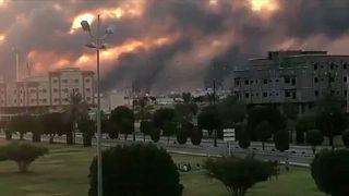 Drónokkal támadták meg a szaúdi olajvállalat két üzemét