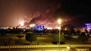 حمله پهپادی به تاسیسات نفتی عربستان در بقیق