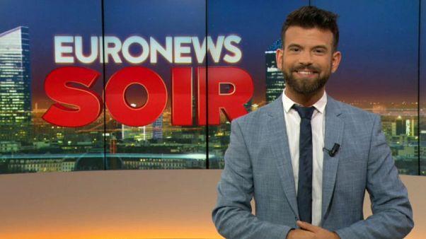 Euronews Soir : l'actualité du vendredi 13 septembre