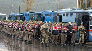 دستور بازداشت ۲۲۳ نظامی دیگر در ترکیه صادر شد