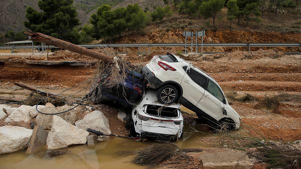 Sánchez visita zonas devastadas por inundações