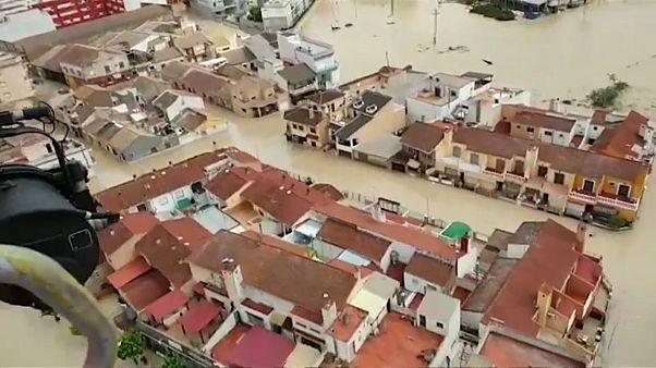 Испания оценивает ущерб от наводнений