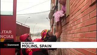 No comment: a spanyolországi mentés pillanatai