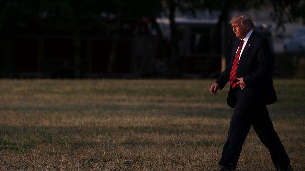 ترامب في بلتيمور 2019/09/12. ليا ميليس - رويترز