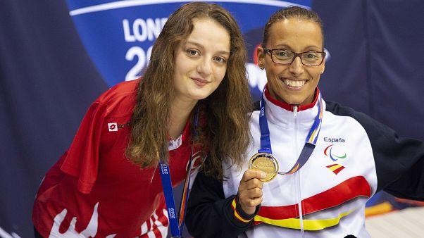 Sümeyye Boyacı Dünya Paralimpik Yüzme Şampiyonası'nda gümüş madalya kazandı