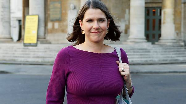 Britain's Liberal Democrats leader Jo Swinson leaves BBC studios in London, Britain, September 15, 2019.