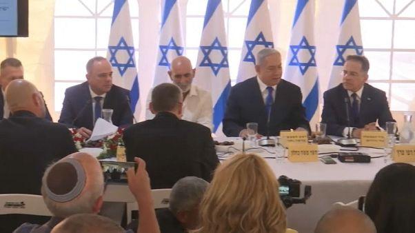 A Jordán folyó völgyében ülésezett az izraeli kormány