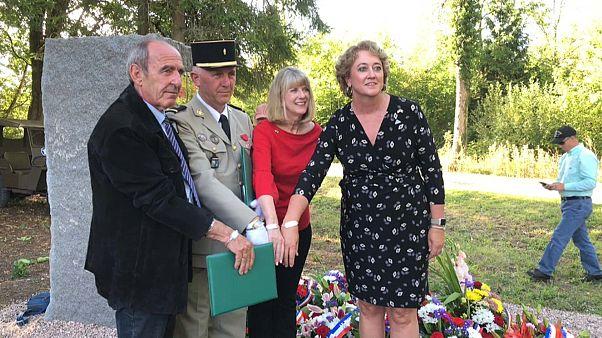 A Lunéville, l'hommage aux soldats américains tués, et à ceux qui les ont trouvés