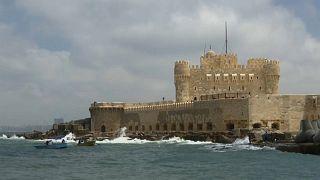 La subida del nivel del mar ya se siente en el puerto egipcio de Alejandría