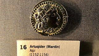 David Koleksiyonu'nda yer alan Artuklular'a ait madeni para