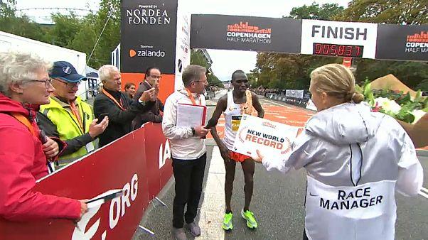 Kenianer Kamworor verbessert Halbmarathon-Weltrekord